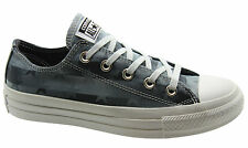 Converse CT All Star Ox Womens Low Top Lace Up Black Trainers 547332C WH