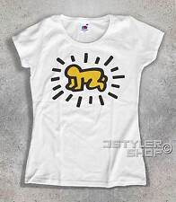 women's T-SHIRT KEITH HARING Baby RADIANT Baby radiant POP ART STREET ART MOMA