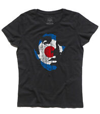 women's T-SHIRT KEITH MOON vintage TARGET mods The Who England Pete Townsend