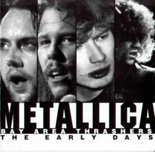 METALLICA EARLY DAYS BAY AREA THRASHERS  with RARE book '97 CD
