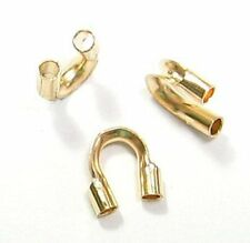 14K Gold Filled Cable and Stringing Thimble Wire Guard (Many Size)