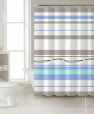 "100% Cotton Fabric 72x72"" Shower Curtain- Choose from 4 designs and colors"