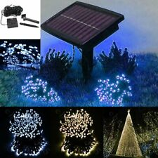100/200 LED String Solar Battery Light Outdoor Garden Xmas Party Fairy Tree Lamp