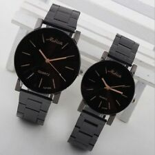 Fashion Women Men Luxury Stainless Steel Analog Quartz Movement Wrist Watch New