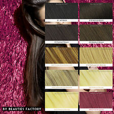 Double Weft Deluxe 20 inch Clip in 100% Remy Human Hair Extension 100/150/200g
