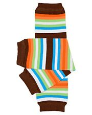 William Stripe Leg Warmers Newborn Infant and Baby Toddler Sizes Boy Brown Blue