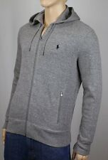 Polo Ralph Lauren Performance Grey Full Zip Hoodie Sweatshirt NWT