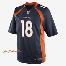 NFL Denver Broncos Limited Jersey Peyton Manning Men's Football Jersey M L Blue