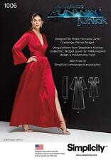 Simplicity SEWING PATTERN 1006 Misses Long Dress With Sash & Short Dress