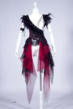 SM71RD women's Visual kei Gothic Punk Rock Japan Fasion Skirt Dress freeship