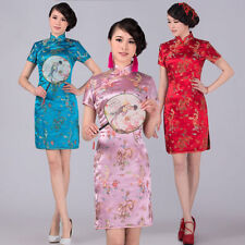 HOT!Chinese women's Charming mini dress evening dress Cheongsam Qipao size S-XXL
