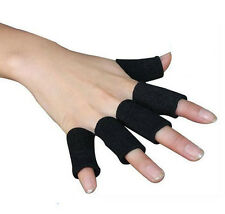 10pcs Finger Protective Gear Sleeves Finger Support Guard Sport Gears Volleyball