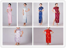New Charming Chinese women's mini dress evening gown Qipao Cheongsam size S--XXL