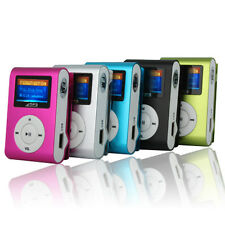 Mini USB Clip Sport Digital MP3 Player LCD Screen Support 32GB Micro SD TF Card