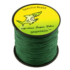 Dark Green 4PLYS/8PLYS Top Pro PE Dyneema Spectra Tackle Braided Fishing Line