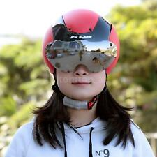 Bicycle Cycling Integrally-molded Bike Skating Helmet Goggles Unisex W6Z8
