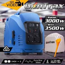 NEW 149.5cc 3.5kVA Engine GenTrax Pure Sine Wave Silent Inverter Generator
