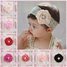 Fashion Girls Baby Toddler Infant Flower Headband Hair Bow Band Hair Accessories