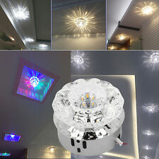 3W 5W Modern Crystal LED Ceiling Light Lighting Chandelier Fixtures Bulb 85-245V