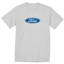 Ford t-shirt ford logo sign t-shirt for men gray mustang ford racing