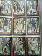 MAN OF THE MATCH ATTAX  MOTM 2007-2008 UK FOOTBALL TEAM PLAYER PICTURE CARD