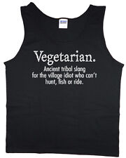 Funny saying tank top for men meat lover carnivore bacon funny t-shirt tee