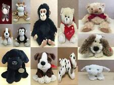 Keel Cuddly Soft Toy Wild Animals Dog Bear Monkey Bird & Baby Comforter