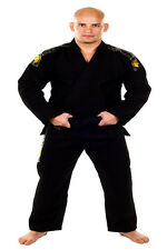 Kingz Black Basic Gi with Free White Belt