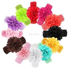 Cute Baby Infant Girls Flower Party Headband Hair Band Headwear Fashion