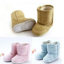 0-18M Baby Infant Child Boys Girls Warm Snow Boots Fur Winter Toddler Crib Shoes