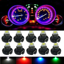 10pcs T3 SMD Climate Control Dashboard Instrument Cluster Light Car Panel Gauge
