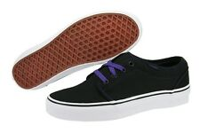 Vans 106 Vulcanized VN-0NJNB7M Black Canvas Casual Shoes Medium (B, M) Women