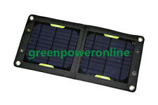 Solar Charger 7W 5V Portable Phone Solar Rechargeable Mobile Power Supply CA