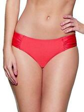 Lepel Holiday Sparkle Low Rise Bikini Bottoms Coral/Red New Sizes 8 - 18