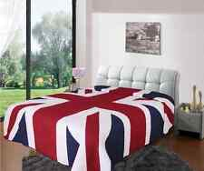New Union Jack 100% Cotton King Double Bed Bedspread Quilted Throw 200cm x 230cm