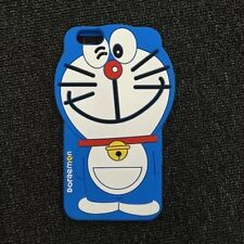 For iPhone 5s 6 6s Plus SE Cartoon Blue Cats Doraemon Soft  Silicone Case Covers