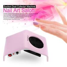 Professional 30W Nail Art Suction Dust Collector Machine Vacuum Cleaner Y0R6