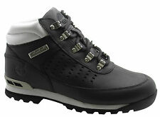Timberland Stamford Mens Hiker Boots Leather Black White Casual Hiking 41519 D64