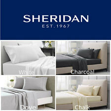 SHERIDAN 1000TC Hotel Weight Luxury Fitted Sheet Set Queen| King| Super King NEW
