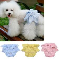 Lace Dress Female Pet Dog Physiological Pants Underwear Diaper Sanitary S M L