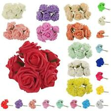 10x Roses Heads Artificial Flower Bridal Bouquet Party Garden Home Decor CHOICE