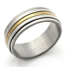 Stainless Steel Ring Smoothly Mens Womens Band Ring Mens Size 7 8 10 11 12
