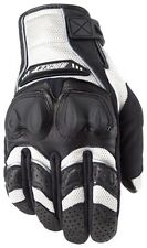 Joe Rocket Mens Phoenix 4 Motorcycle Gloves White/Black/White XXL 2XL