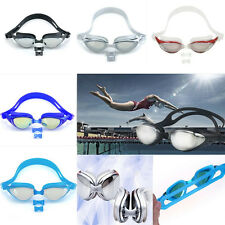 Outdoor Non-Fogging Anti Adult UV Swimming Goggle Glasses Adjustable Eye Protect