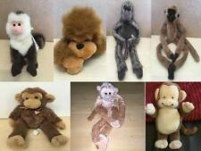 Various Makes of Cuddly Soft Toy Monkeys Chimps Apes