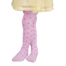 Korea Style Elastic Waist Spotty Pattern Footed Leggings Tights for Girls