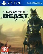 New Sony PS4 Games Shadow of the Beast HK Version Chinese/English Subs