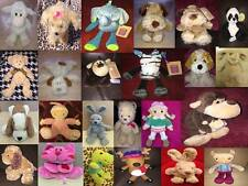 Tesco Soft Cuddly Toy Animals & Baby Comforters Cuddle me