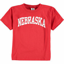New Agenda Nebraska Cornhuskers Youth Red Arch T-Shirt