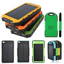 Portable External Charger Battery 10000/8000/5600/5000mAh Power Bank Solar 2-USB